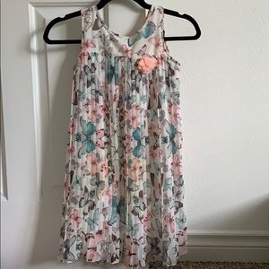 H&M • butterfly dress • 9-10Y